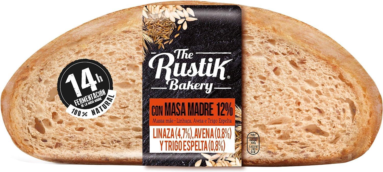 The Rustik Bakery - Hogaza masa madre, cereales y semillas, 450 g: Amazon.es: Alimentación y bebidas