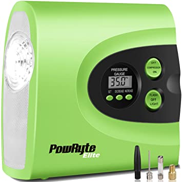 Amazon powryte elite 150psi digital tire inflator 12 volt powryte elite 150psi digital tire inflator 12 volt portable auto air compressor with carry sciox Images