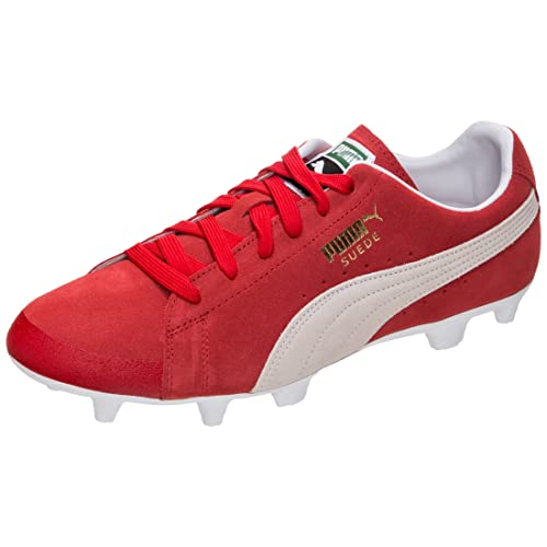 best website dded6 d5d3f Puma Men's Future Suede 50 Fg/ag Footbal Shoes, Red Rot 7.5 ...