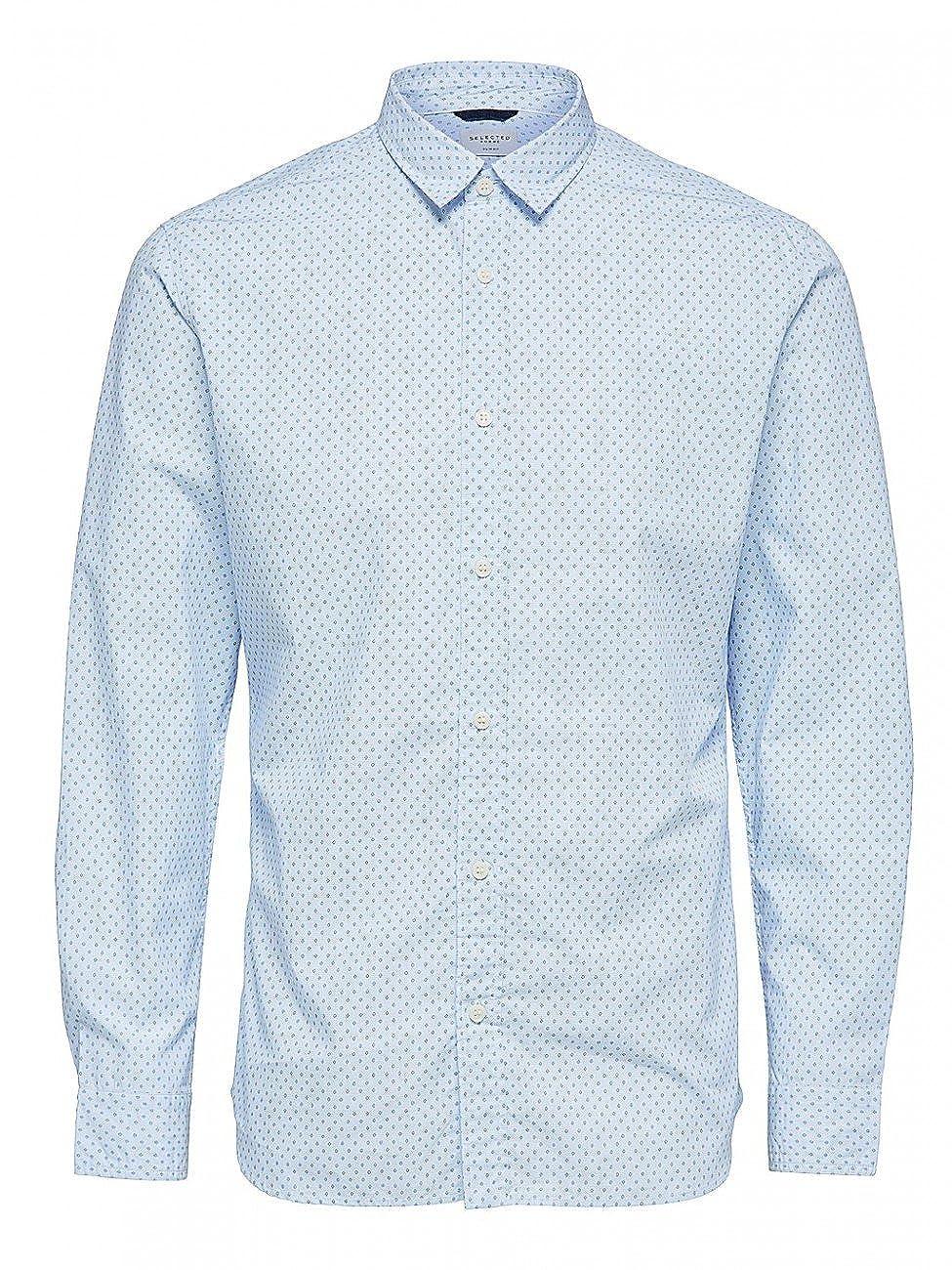 SELECTED HOMME Shhonemoonie Shirt LS Noos, Camicia Uomo 16060040