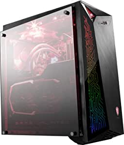 MSI Infinite X Plus 9SE-617EU Ordenador de sobremesa Gaming, Intel Core i7-9700KF, NVIDIA GeForce RTX 2080 Super Ventus (8 GB), RAM 16 GB, HDD de 2 TB, RGB Mystic Light, Windows 10 Home
