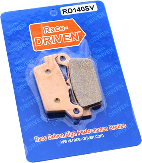Rear RipTide Stainless Steel Brake Rotor /& Brake Pads 1997-2001 Fits Honda CR250
