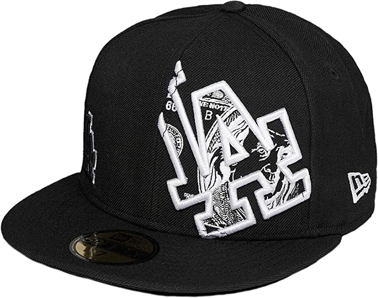A NEW ERA Era Hombres Gorras Planas C-Note LA Dodgers 59Fifty