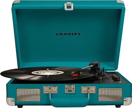 Crosley Cruiser Deluxe - Tocadiscos portátil de Tres velocidades ...