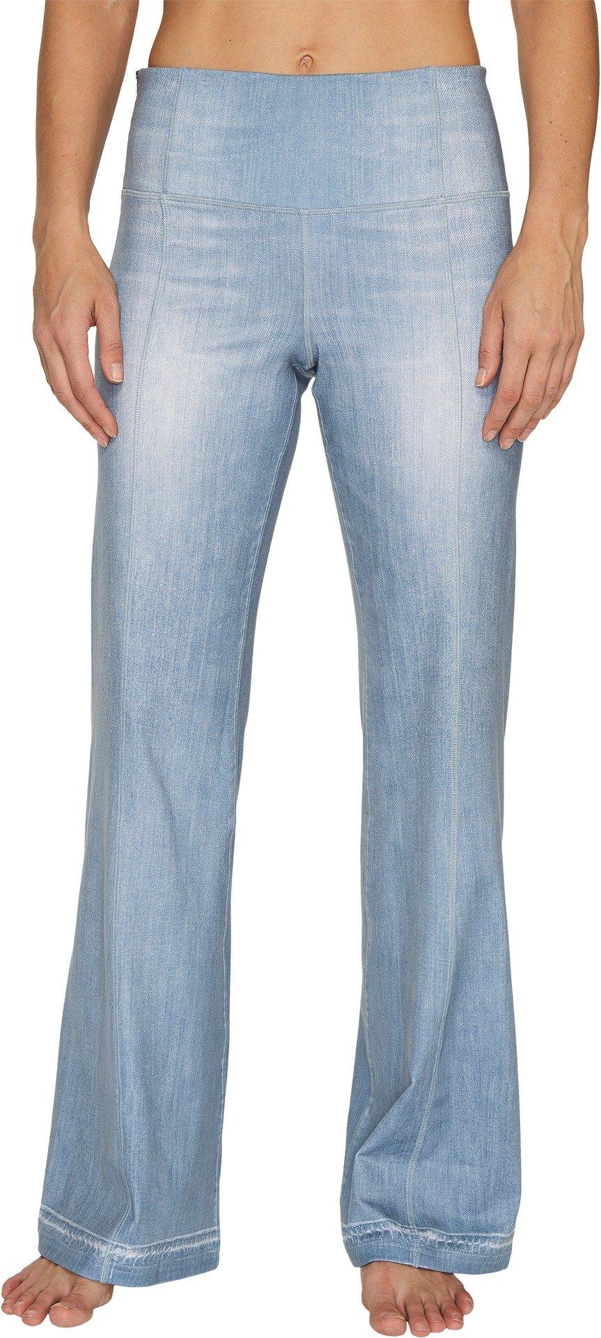 Lucy Women's Indigo Flare Pants Light Indigo Pants