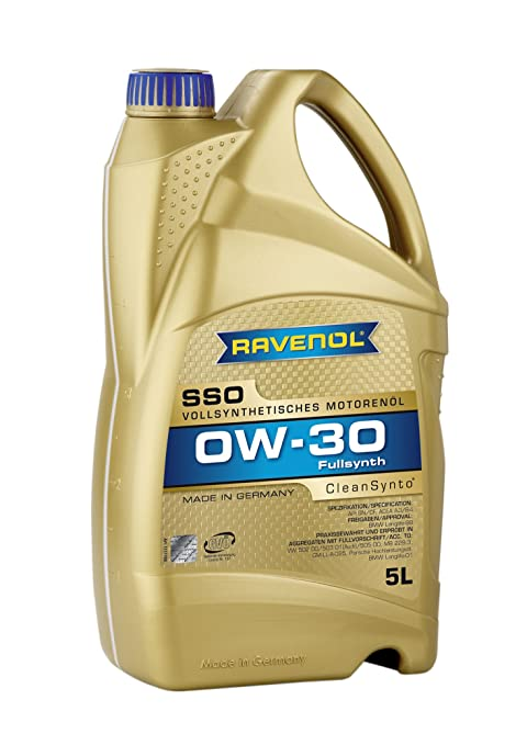Amazon.com: Ravenol j1 a1559 SAE 0 W-30 Aceite de motor, SSO ...