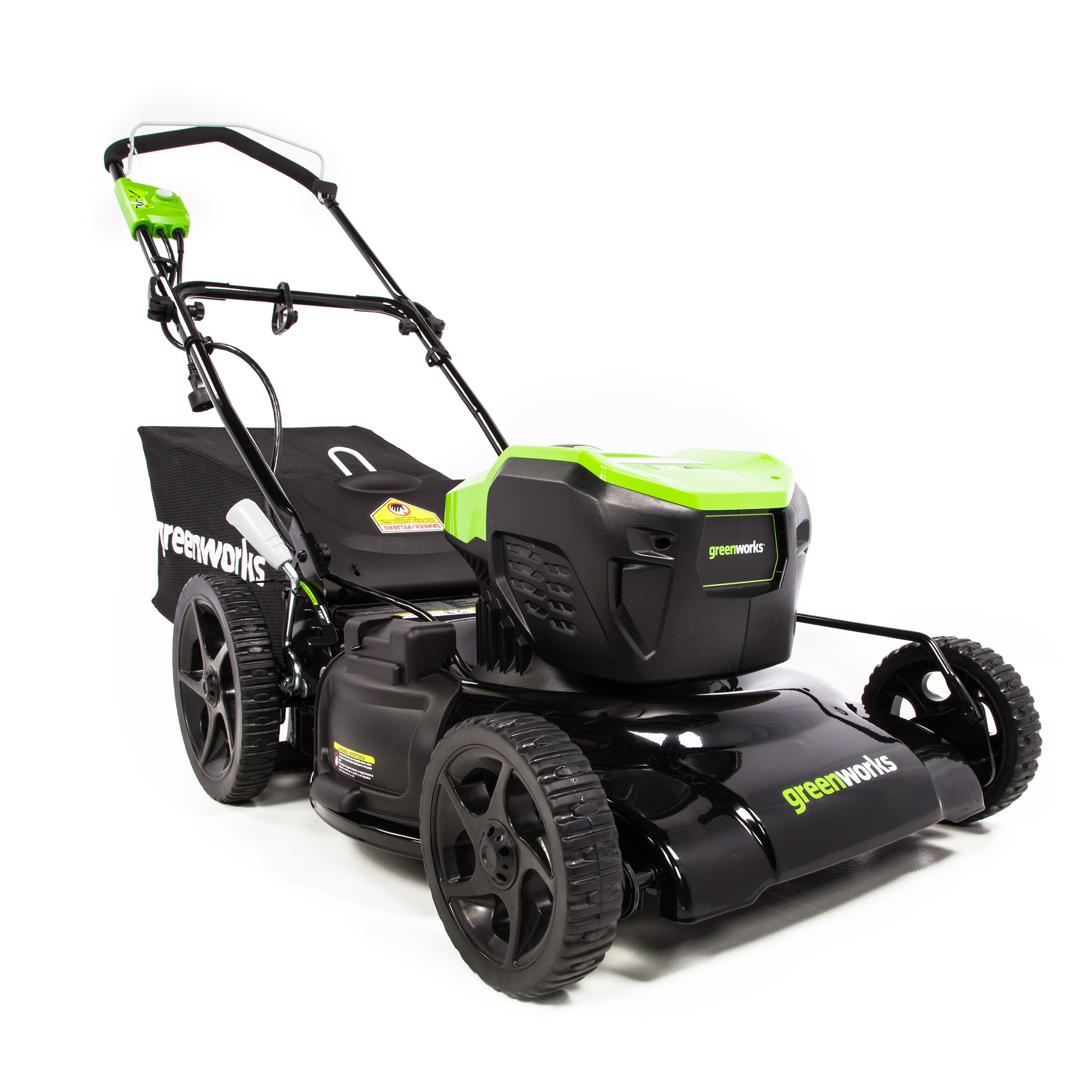 Greenworks 21-Inch 13 Amp Corded Electric Lawn Mower MO13B00 by Greenworks