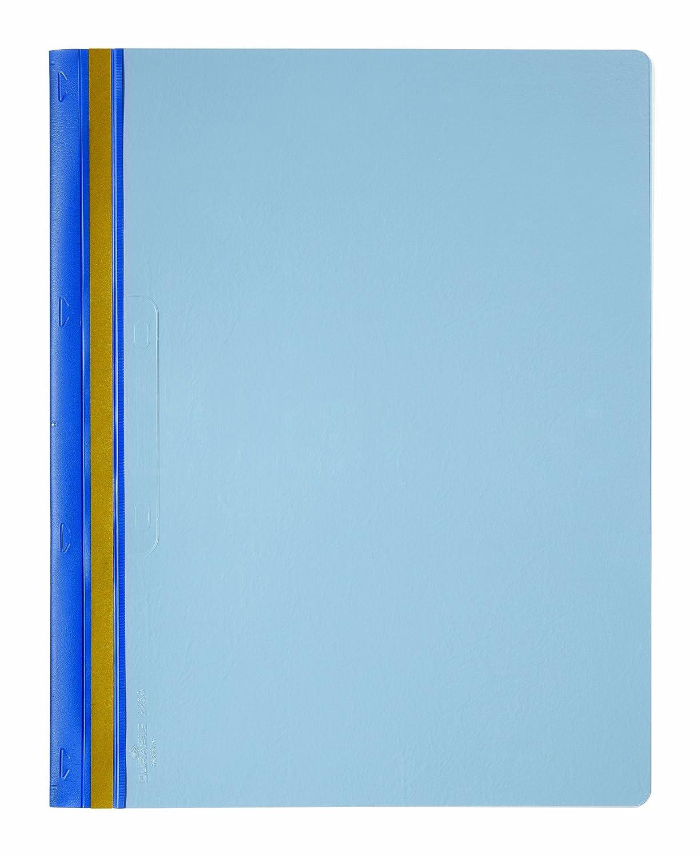 DURABLE 225006 - Durabind, sistema per la rilegatura permanente di documenti e fascicoli, capacità 30 fogli, f.to A4, azzuro, conf. da 25 pezzi capacità 30 fogli