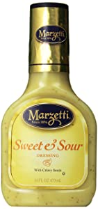 Marzetti Dressings, Sweet and Sour, 16 Ounce (Pack of 6)