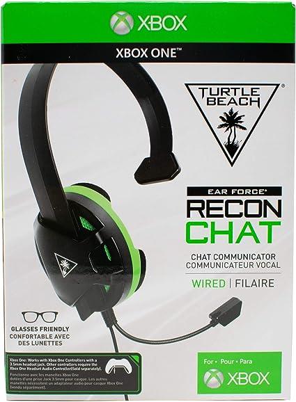 EJC Avenue Turtle Beach Recon Chat - Auriculares de Diadema para Mando Xbox One (Incluye Gafas): Amazon.es: Informática