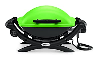 Weber Elektrogrill Vergleich : Weber grill q elektro cm grün amazon