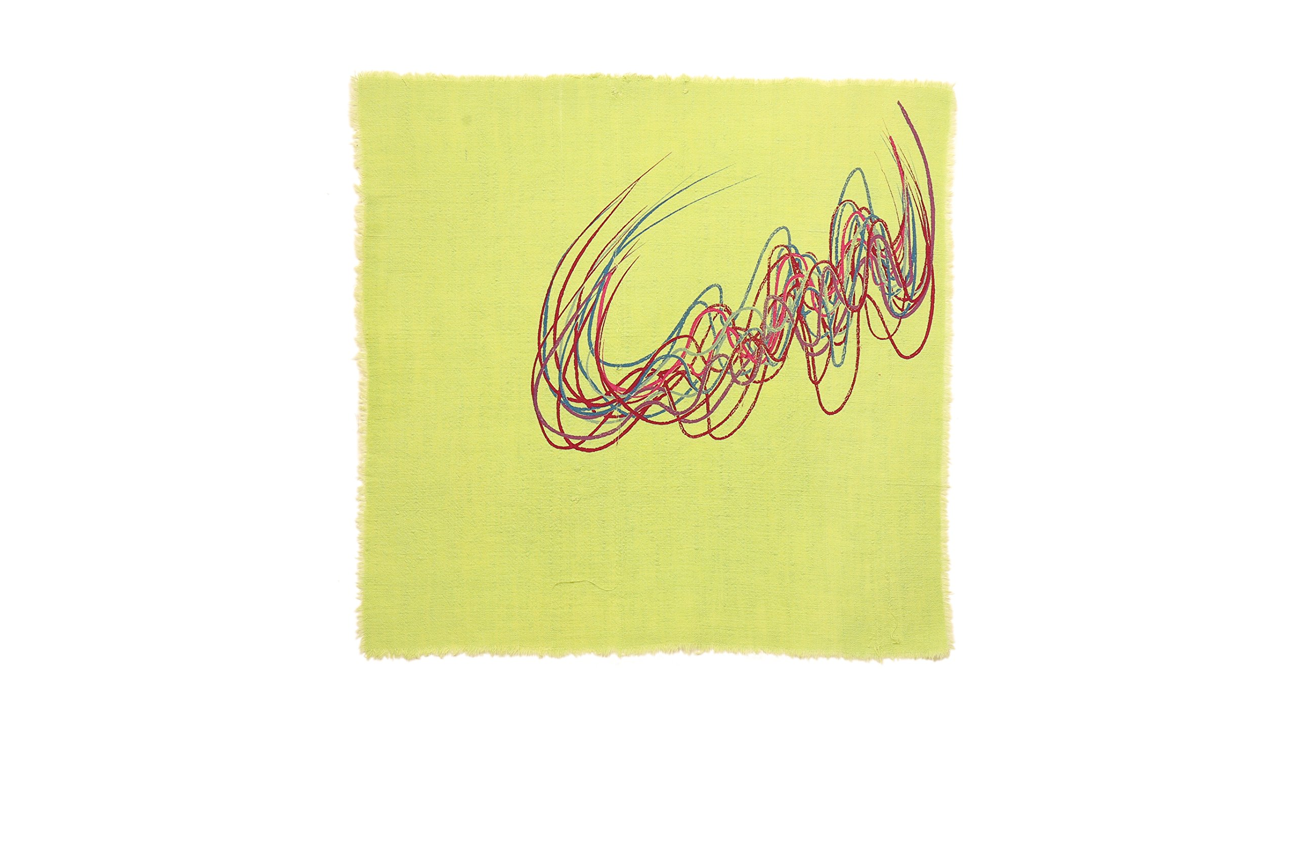 Gitika Goyal Home Crayons on a Table Napkin, 17'' by Gitika Goyal Home (Image #1)