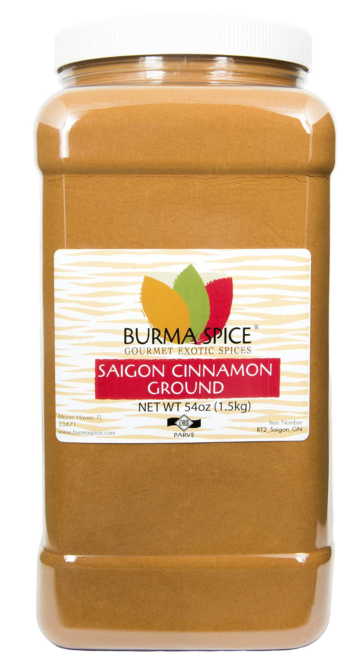 Ground Saigon Cinnamon : Pure Natural Seasoning Spice : Baking : Kosher Certified (54oz.)