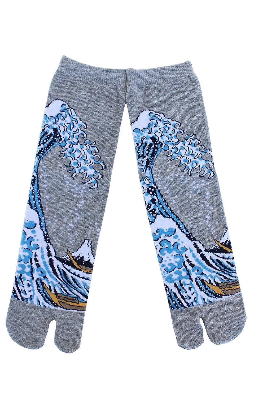 Amazon.com: NINJA - Calcetines de HOKUSAI TABI fabricados en ...