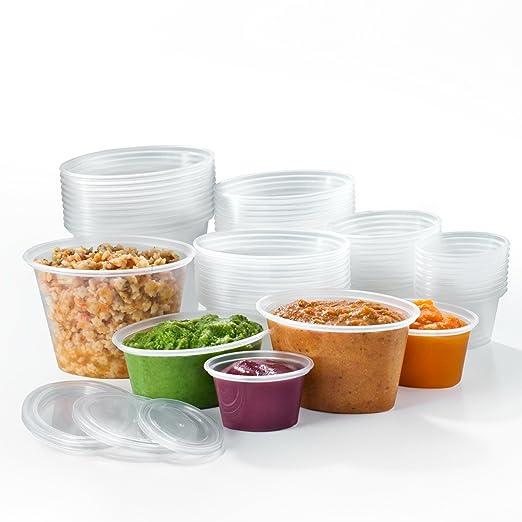 45 opinioni per Mummy Cooks- 50 Contenitori riutilizzabili di plastica senza Bisfenolo A (BPA