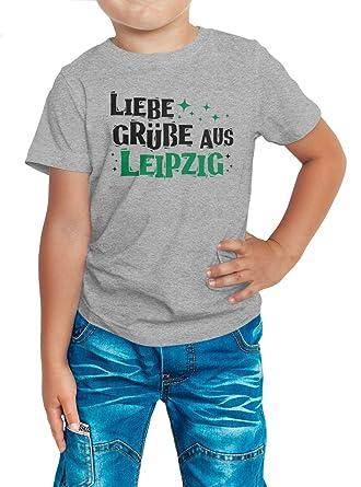 Leipzig Premium T-Shirt  Grüße Aus Leipzig Premium T-Shirt   Heimat ...