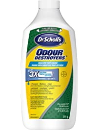 Dr. Scholl's Odour Destroyers Medicated Foot Powder 311 g