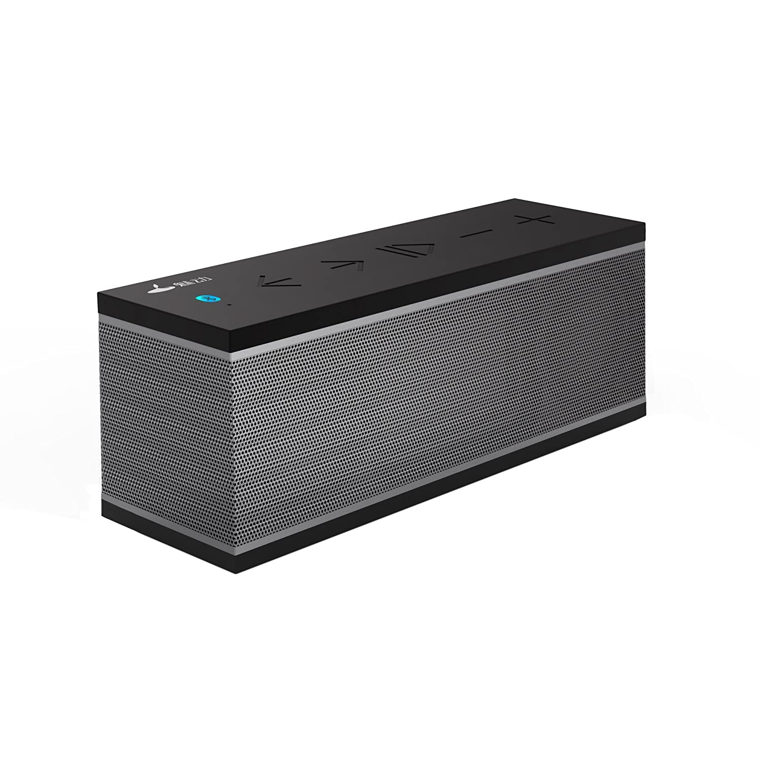 Meidong 2110 Bluetooth Speakers Portable Wireless Speaker with 12W Rich Deep Bass, Waterproof IPX5 Shower Splash Proof/Premium Aluminum Shell/12 Hours Playtime/Perfect for MD-00707