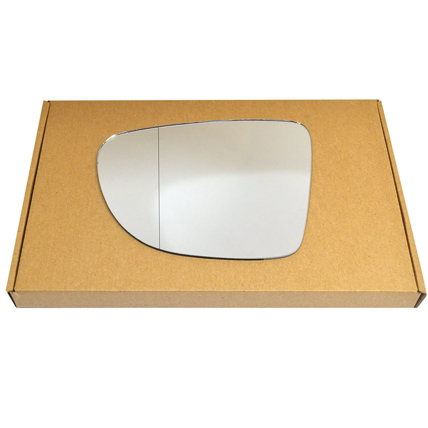 Wide Angle Left passegner side Silver Wing mirror glass # ReCli//an0-2015374//590