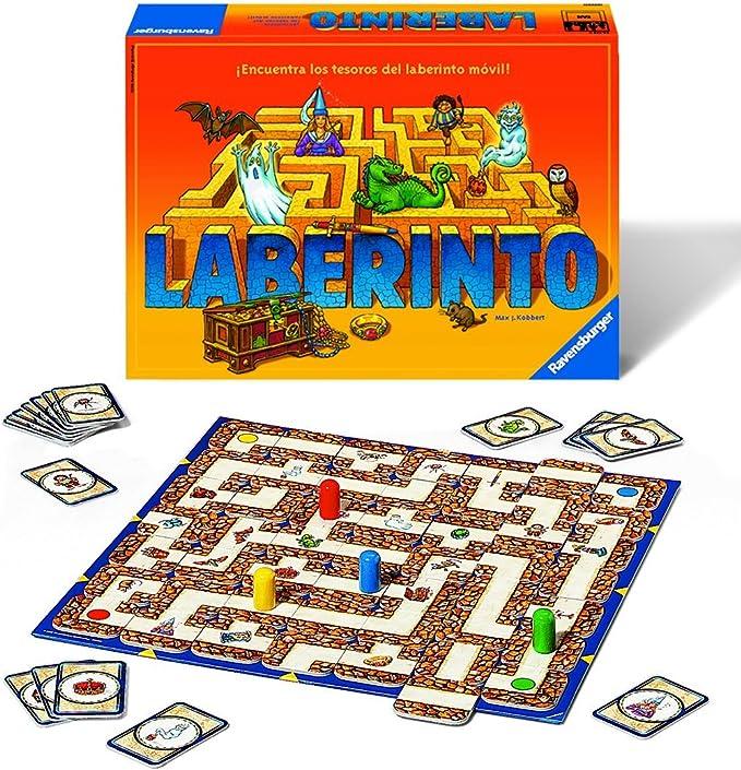 Ravensburger Laberinto Magico, Juego de mesa, 2-4 Jugadores, Edad recomendada 7+ (26324): Amazon.es: Juguetes y juegos