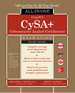 Amazon com: CompTIA CySA+ Cybersecurity Analyst