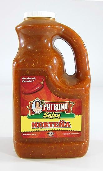 La Patrona Salsa Norteña, 1 / 8.5 lb (1 Gallon Jug),