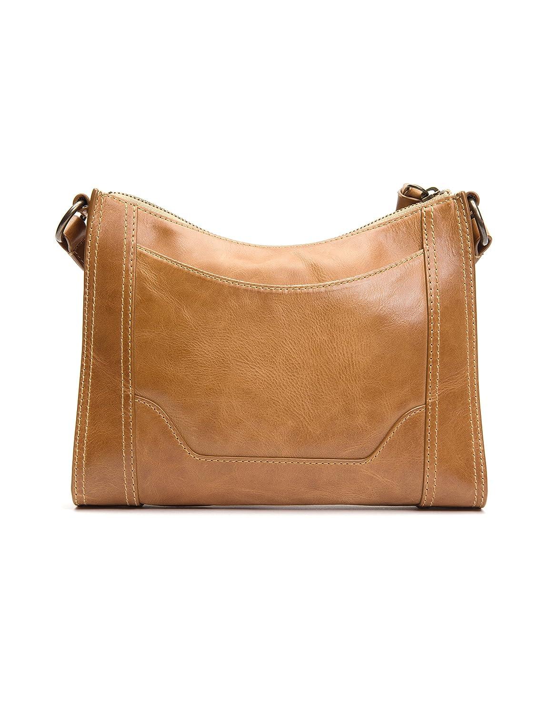23aef5a0e9bf Amazon.com  FRYE Melissa Zip Leather Crossbody Bag