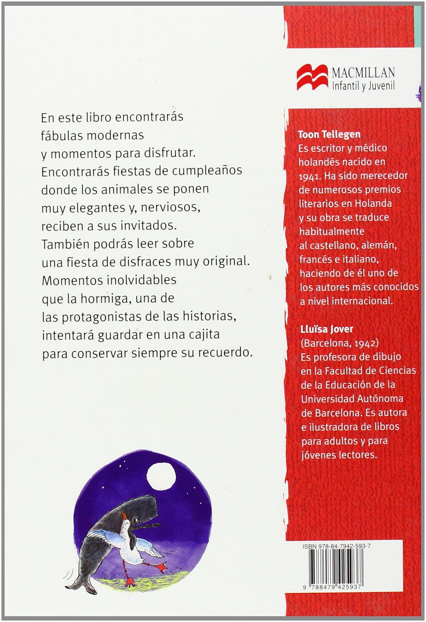 La fiesta de cumpleaños (Librosaurio) (Spanish Edition): Toon Tellegen, Llüisa Jover: 9788479425937: Amazon.com: Books