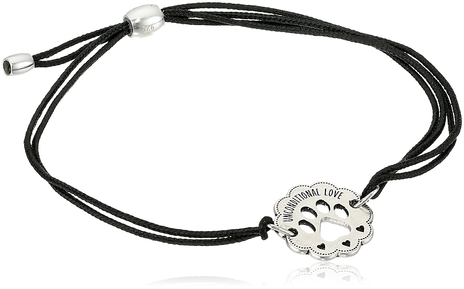 Alex Ani Unconditional Sterling Bracelet Image 1