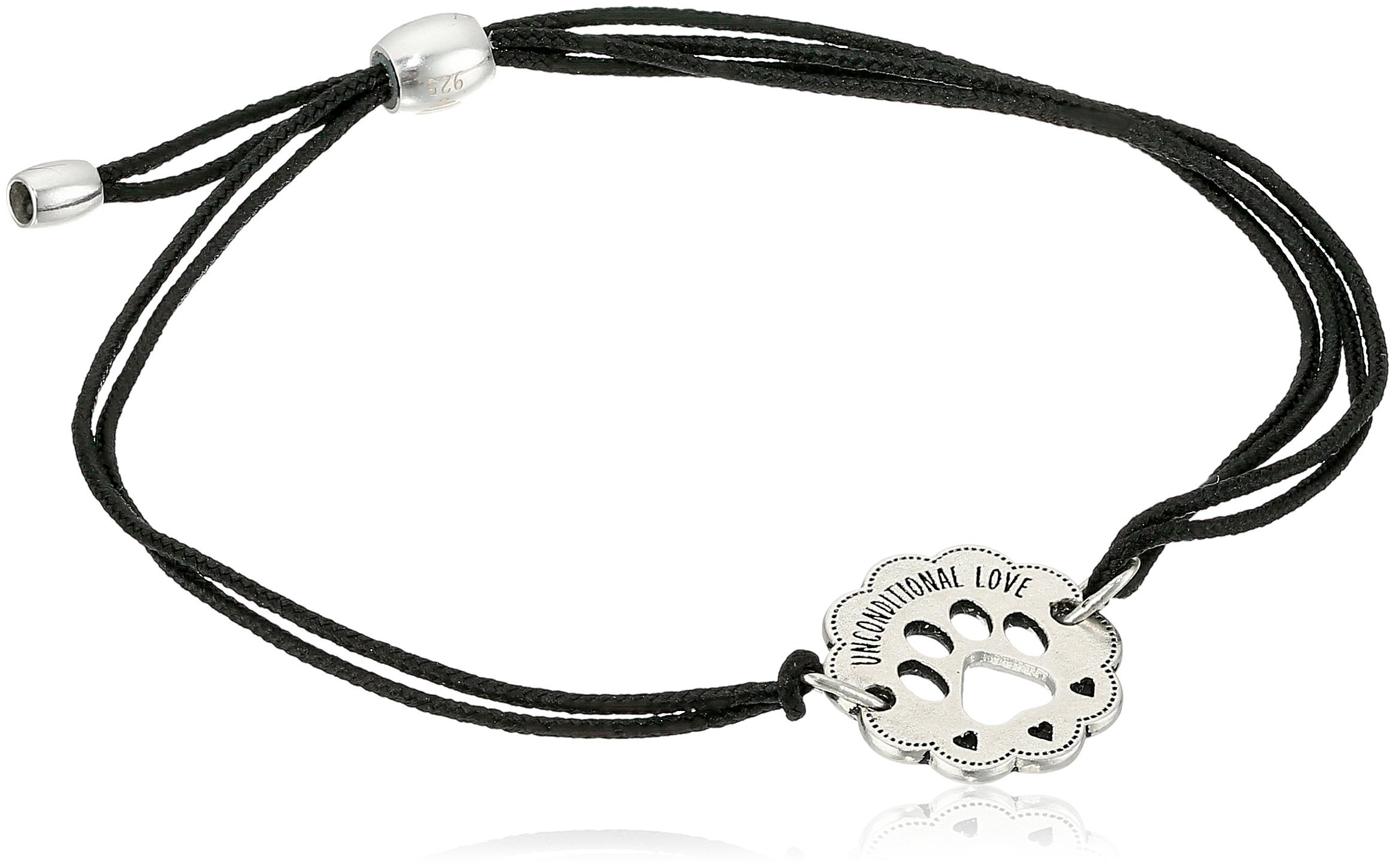 Alex and Ani Kindred Cord, Unconditional Love Sterling Silver Bangle Bracelet