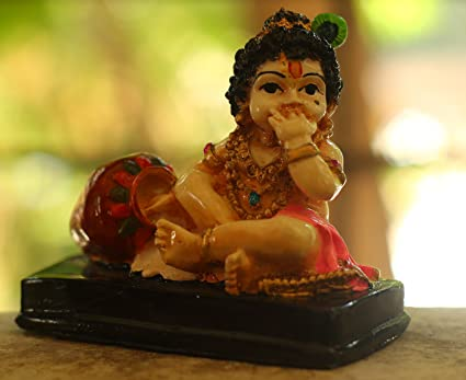 buy paradigm picture cute little krishna gift statue idol showpiece