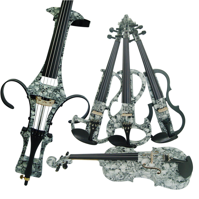 Aliyes Bois Violon électrique Taille complète 4/4Advanced intermédiaire Electric Silencieux pour violon (Alkit-003) ALDSZA-1312