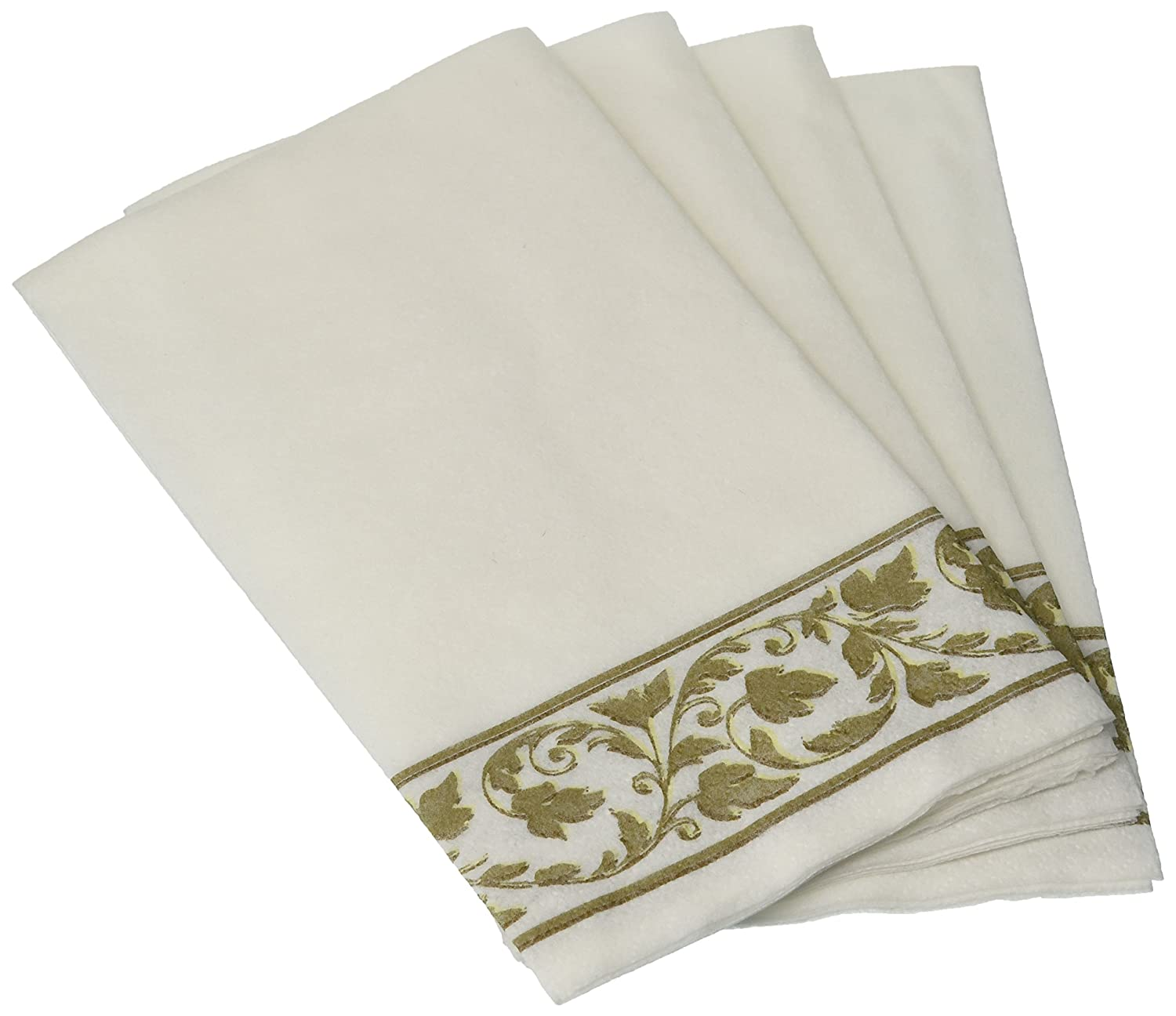 Amscan 536500 Guest Towels Party Supplies 24 pieces White