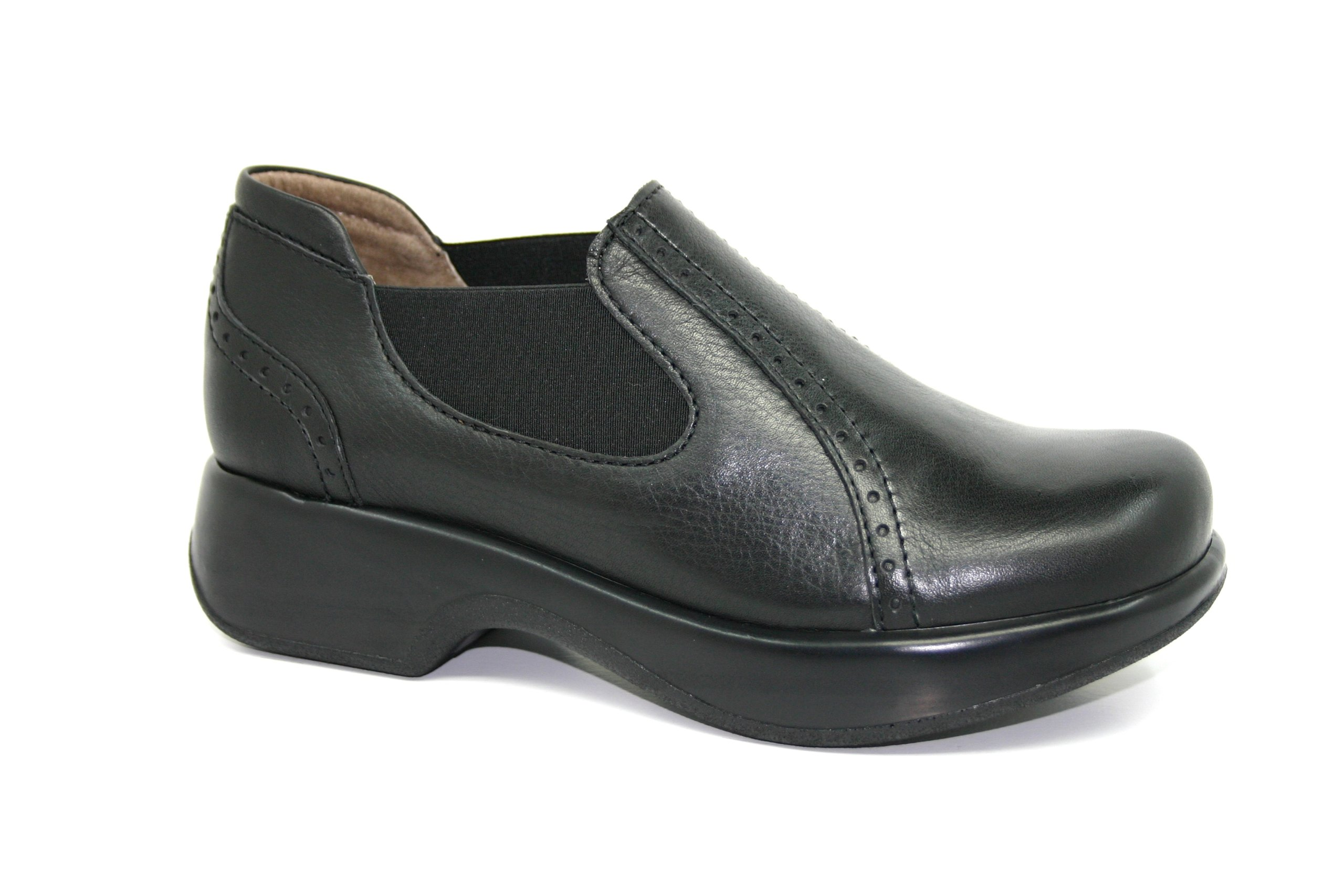 Dromedaris Women's Falcon Platform Shoes,Black,40 M EU