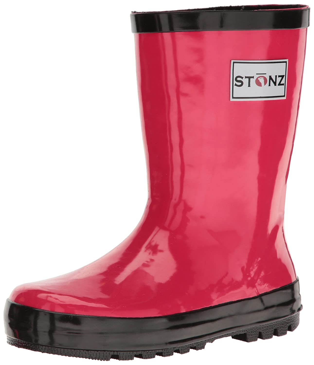 Stonz All-Natural Rubber Kids Rain Boots Waterproof - Boys & Girls Toddler Little Kid Big Kid STONZ-RAINBOOTS