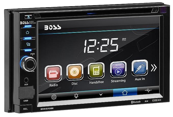 Boss Audio Bv9372bi Double Din Touchscreen Bluetooth Dvd Cd Mp3 Usb Sd Am Fm Car Stereo 6 2 Inch Digital Lcd Monitor Detachable Front Panel