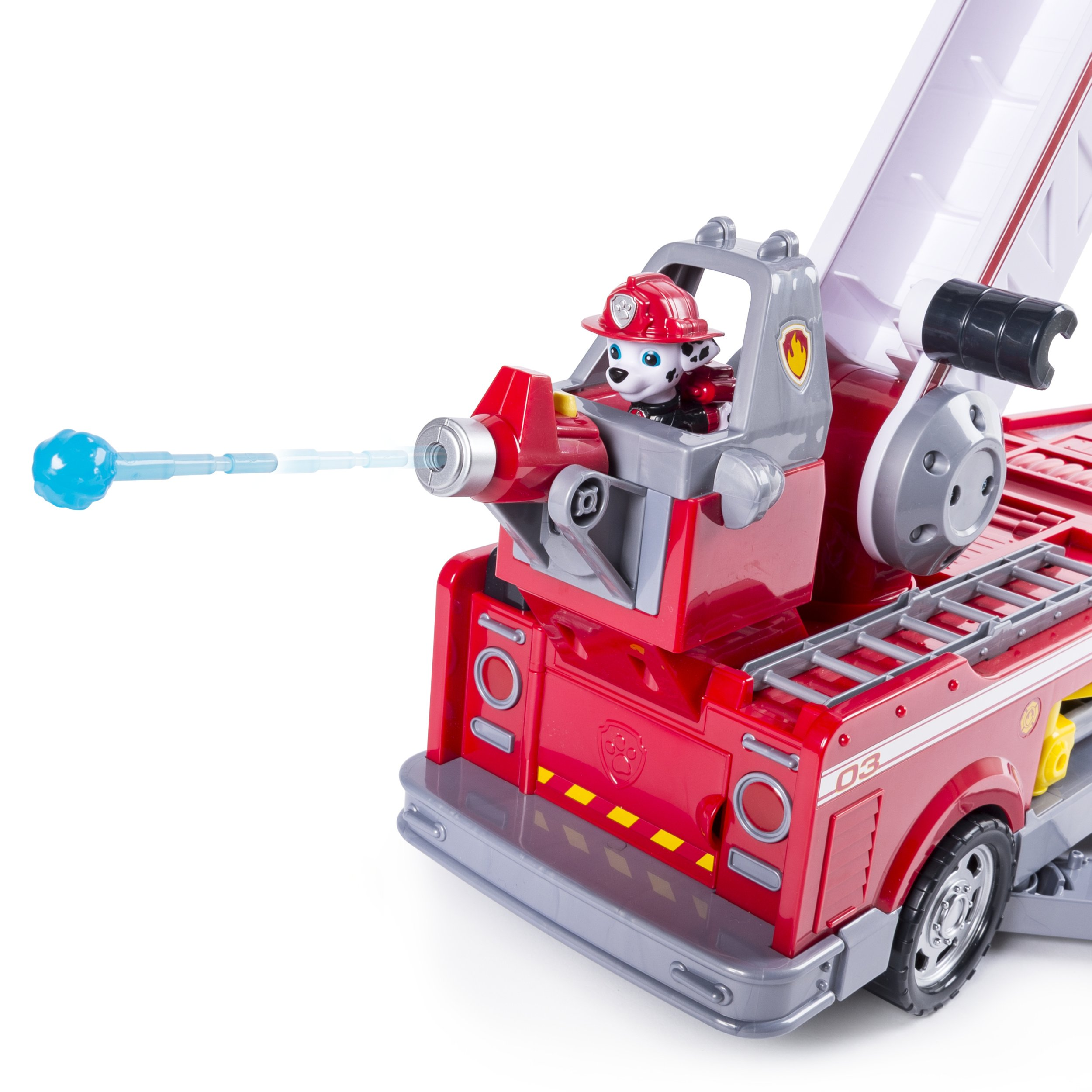 PAW Patrol - Ultimate Rescue Fire Truck with Extendable 2 ft. Tall Ladder, for Ages 3 and Up by Paw Patrol (Image #8)