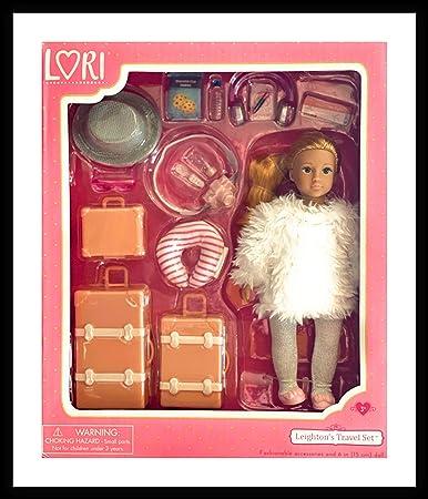 Lori LO31172Z 6 Doll W//Luggage /& Accessories Leighton