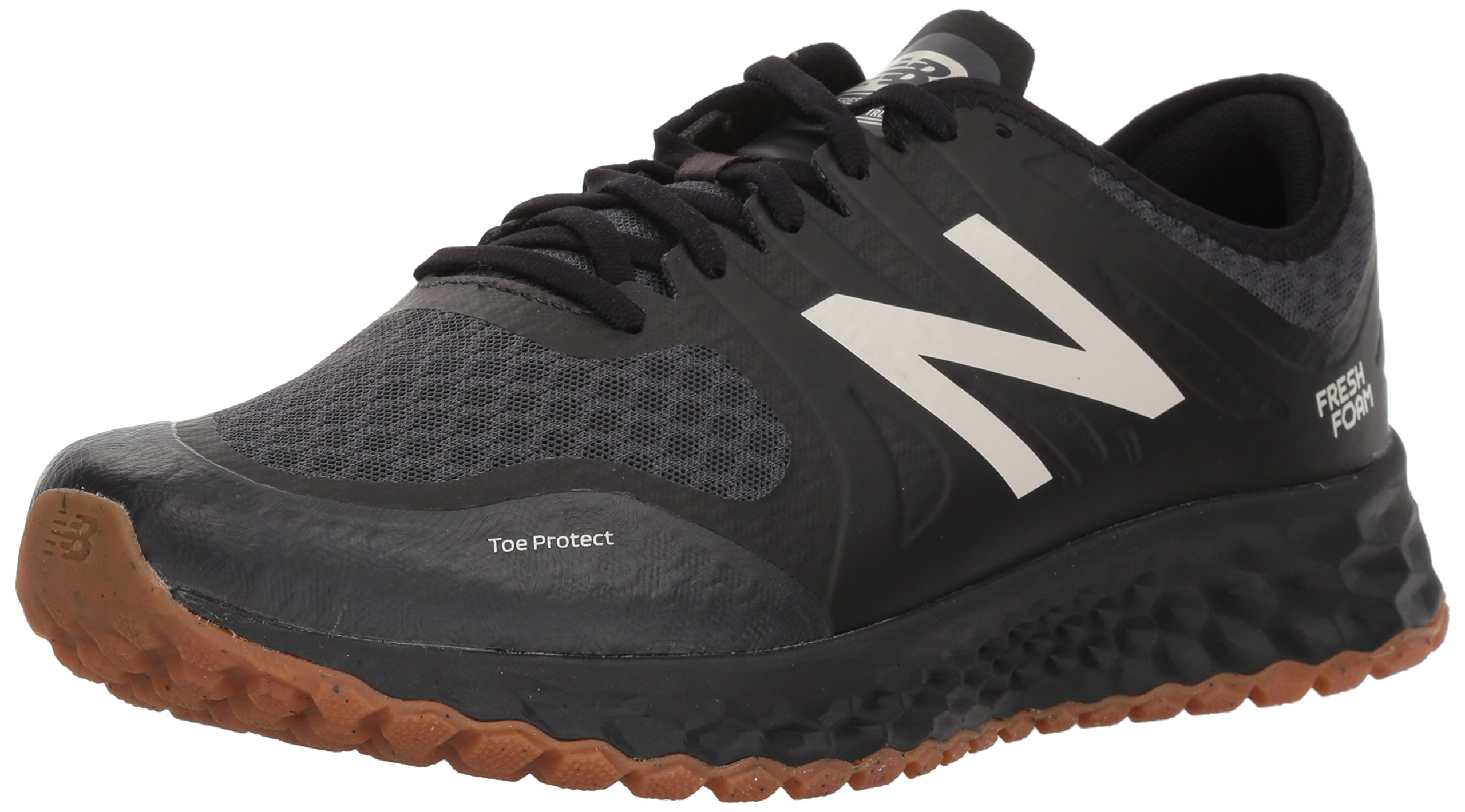 New Balance Men's Kaymin Trail v1 Fresh Foam Trail Running Shoe, Black, 11 4E US