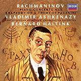 Rachmaninov: Pno Con 1 Rhapsody on a Theme of Paga