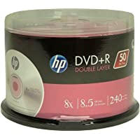 HP DVD+R Double Layer 8X 8.5GB 240min Video