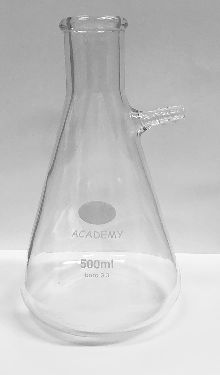 FILTER FLASK ERLENMEYER CONICAL SHAPE 500ML ACADEMY/KING SCIENTIFIC