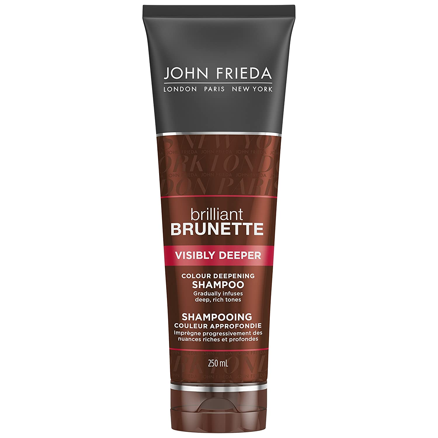 JOHN FRIEDA Brilliant Brunette Visibly Deeper Colour Deepening Shampoo, 250 ml Kao