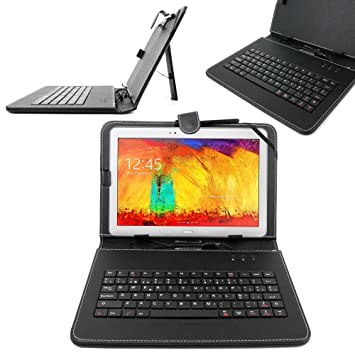 """DURAGADGET Funda/Teclado ESPAÑOL Con Letra Ñ Para Samsung Galaxy Tab 3 10"""" GT"""