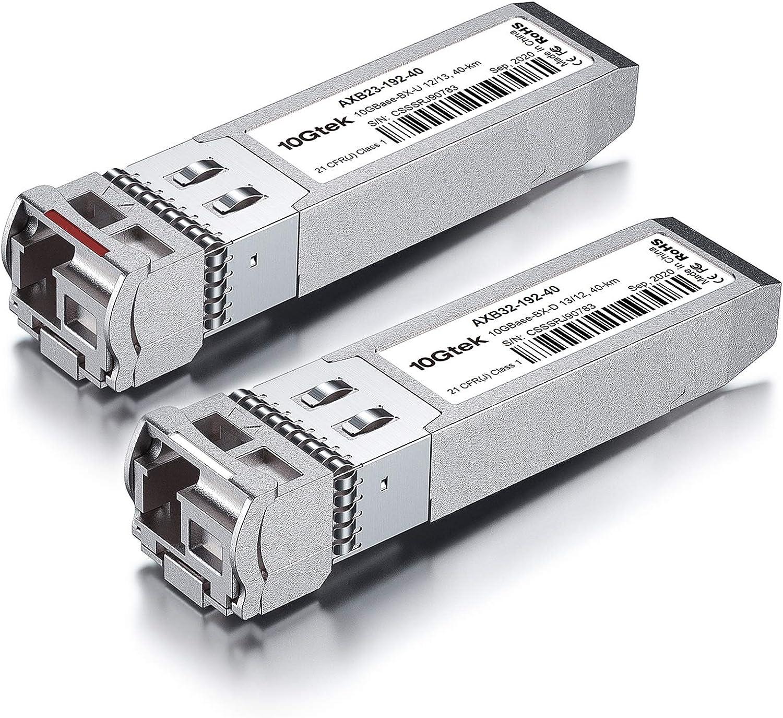 10GB kit 5 Meters for Cisco ASR 9000 Series A9K-24X10GE-1G-SE Compatible SFP