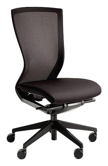 KI Altus Mesh Back Armless Task Chair, Plastic 5 Star Base, Carpet Casters,
