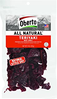 product image for Oberto All Natural Beef Jerky, Teriyaki, 54 Ounce