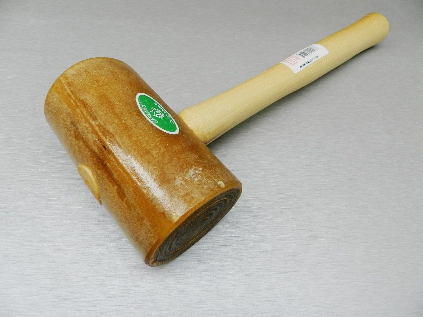 #5 Rawhide Mallet Garland Leather Work Assembly Hammer Large 2-3/4'' Face 22oz (1.5 R BOX A) NOVELTOOLS by Garland (Image #6)
