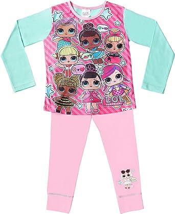 L.O.L. Surprise! Pijamas De Las Muñecas Niñas | PJ De Algodón Suave De Confetti Pop: Amazon.es: Ropa y accesorios