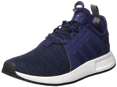 newest 634d4 730cb Amazon.com | adidas Originals X_PLR Dark Blue Textile Youth ...